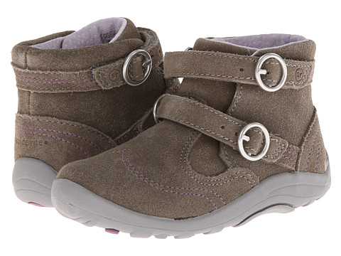 Stride Rite - SRT Gisella (Toddler) (Grey) Girls Shoes