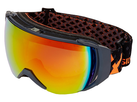 Quiksilver - Hubble Rimless Goggle (Black/Orange Fluo) Snow Goggles