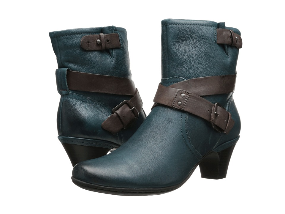 Rockport - Sienna (Blue/Teal) Women's Zip Boots
