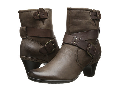 Cobb Hill - Sienna (Stone) Women's Zip Boots