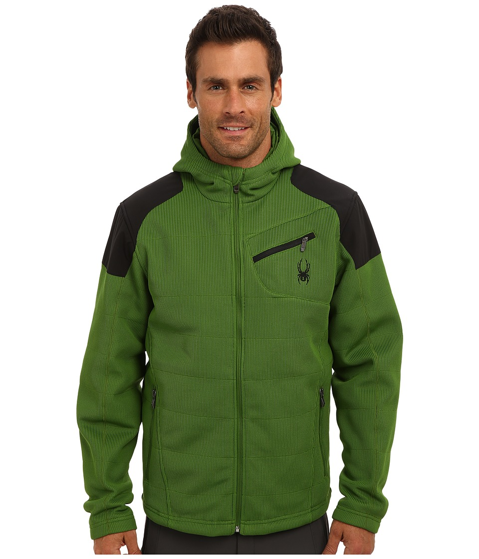 Spyder - Outsetter Insulated Hybrid Mid Weight Core Sweater (Mountain Top/Black) Men's Sweater