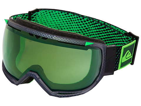 Quiksilver - Hubble Goggle (Black Fluo Green) Snow Goggles