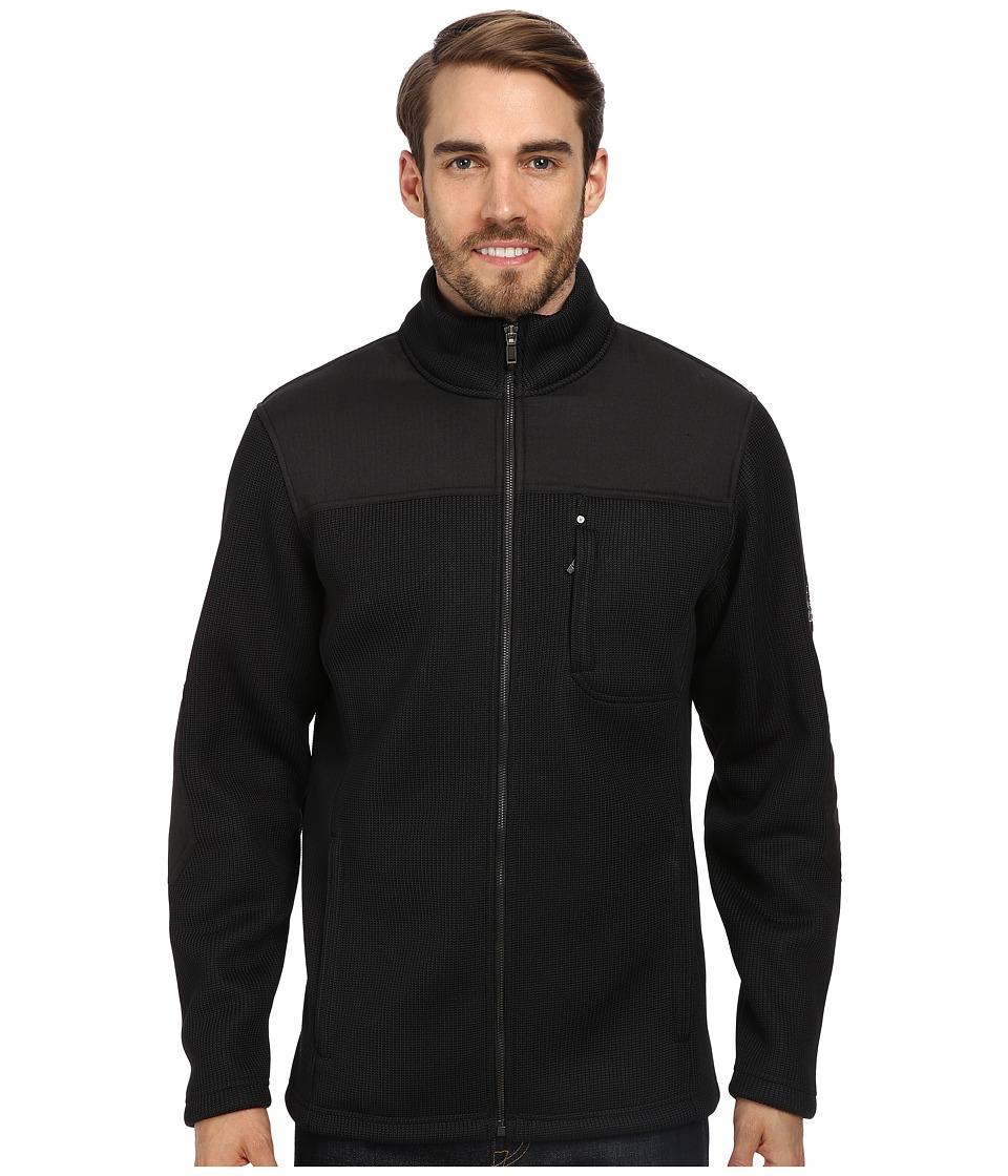 Spyder - Rambler GT Heavy Weight Core Sweater Jacket (Black) Men
