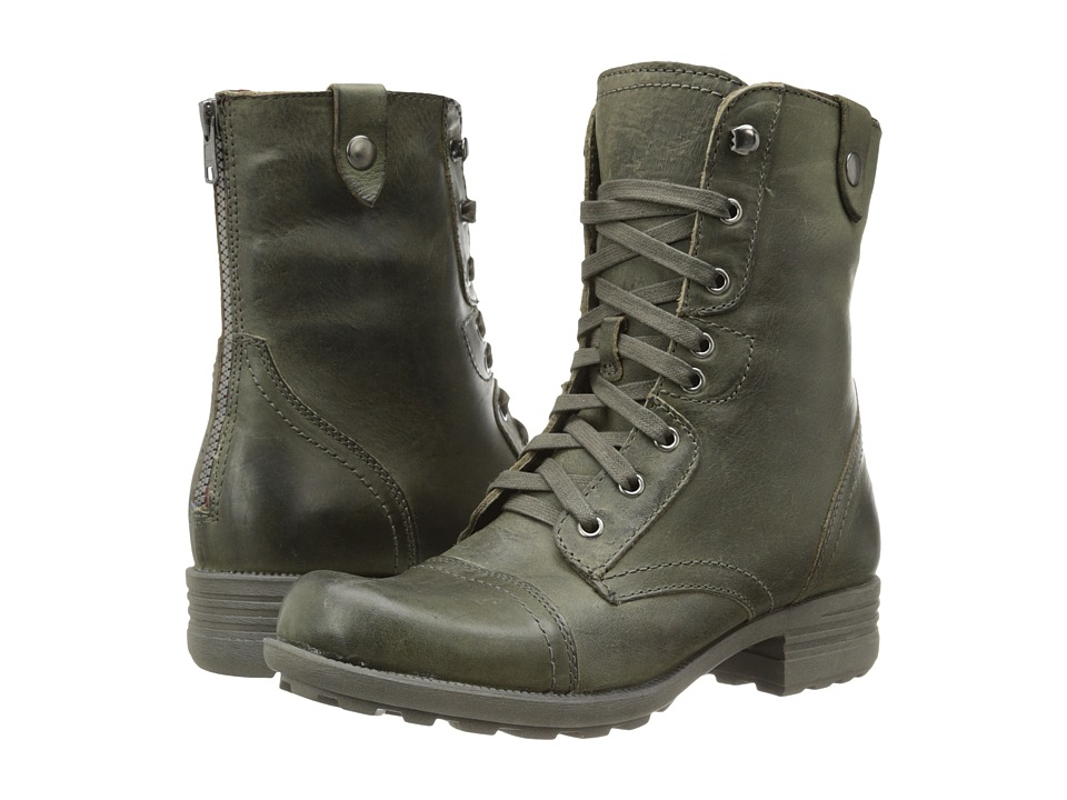 Rockport - Cobb Hill Bethany (Dark Green) Women's Lace-up Boots