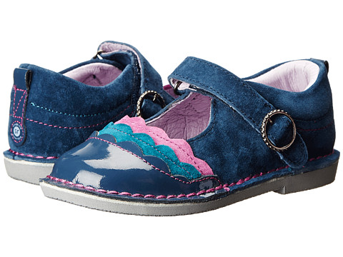 Stride Rite - Medallion Collection Evelyn (Toddler/Little Kid) (Navy/Berry) Girl's Shoes
