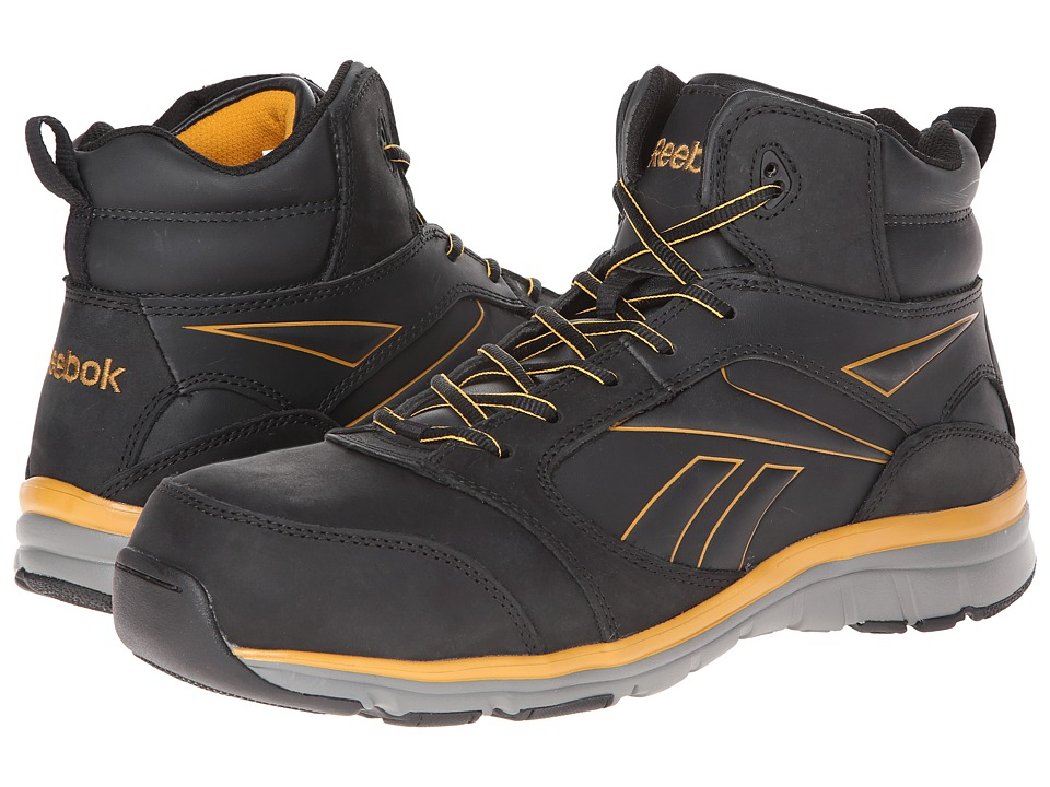 Reebok Work - Tarade (Black) Men's Work Boots