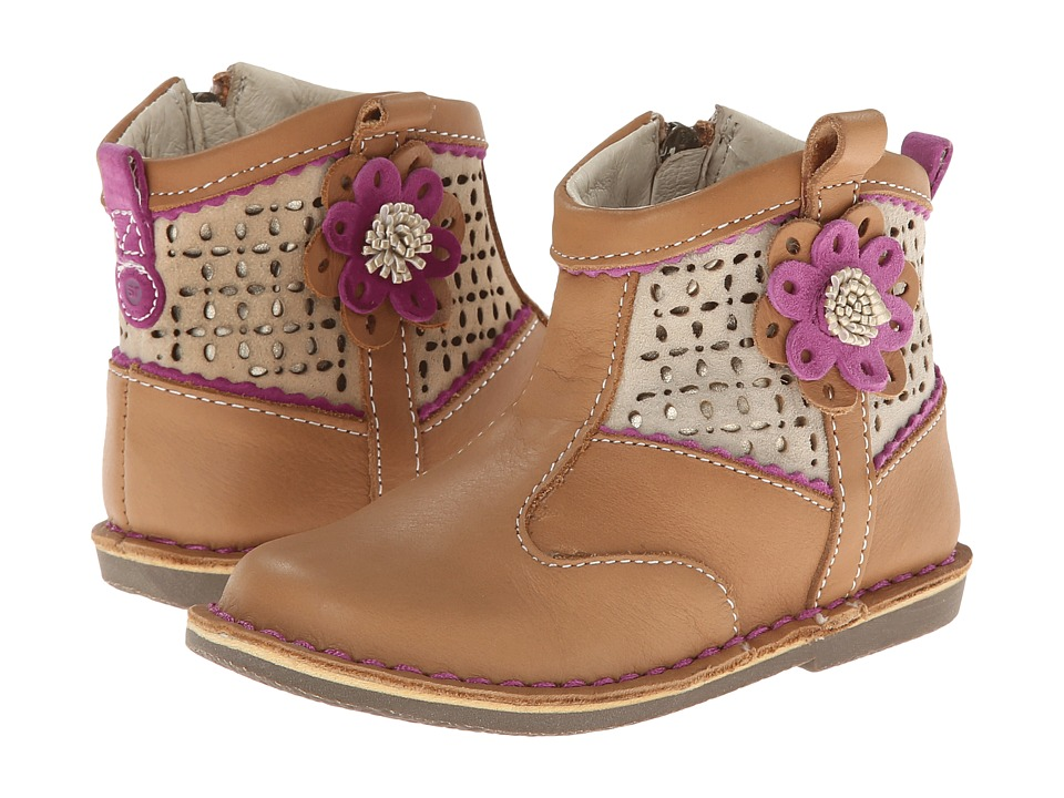 Stride Rite - Medallion Collection Baylene (Toddler) (Tan) Girls Shoes