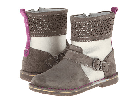 Stride Rite - Medallion Collection Alice (Toddler/Little Kid) (Grey/Gold) Girls Shoes