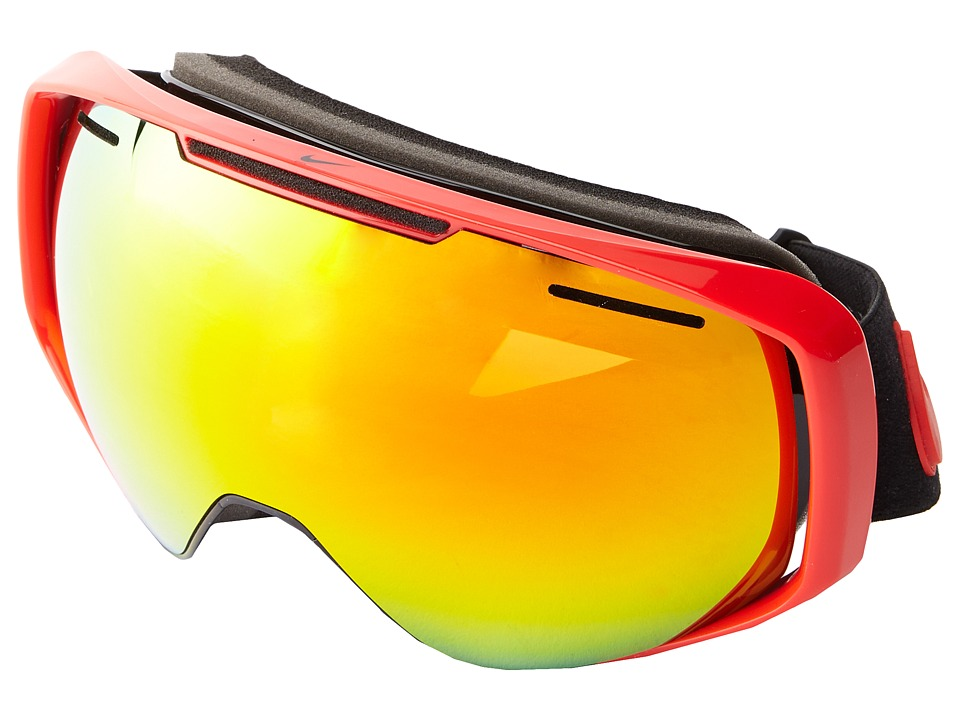 Dragon Alliance - Khyber X Nike (University Red/Black/Red Ionized + Yellow Red Ionized) Goggles