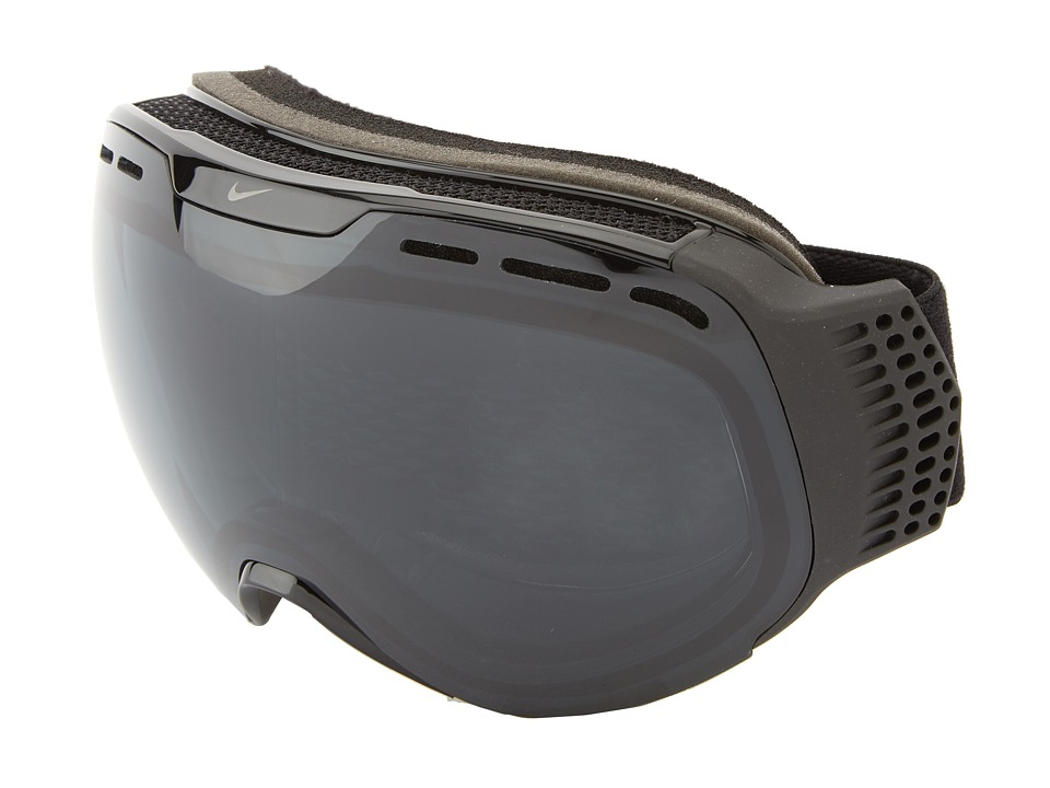 Dragon Alliance - Command X Nike (Black/Black/Dark Smoke + Yellow Red Ionized) Goggles