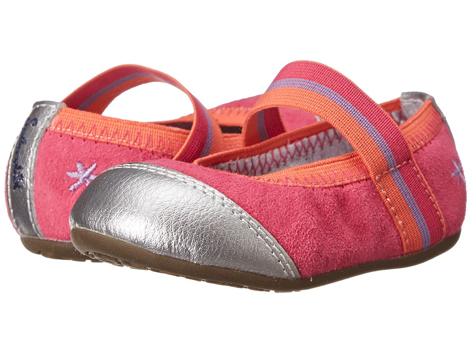 Stride Rite - Baby Jettah (Toddler) (Hot Pink/Coral) Girls Shoes