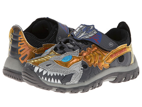 Stride Rite - Optimus Prime/Grimlock Dinobot (Toddler/Little Kid) (Grey) Boy's Shoes