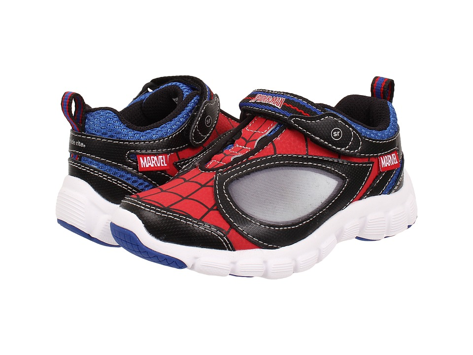 Stride Rite - Spidey Reflex (Toddler) (Red/Black) Boy