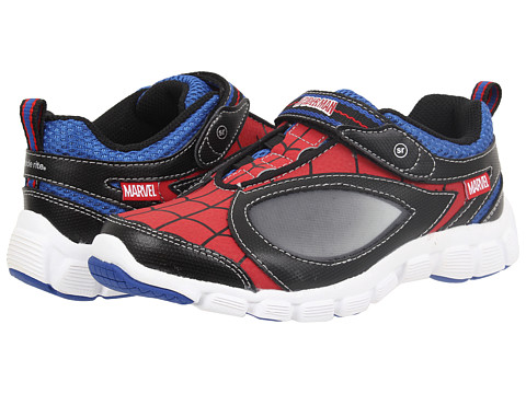 Stride Rite - Spidey Reflex (Little Kid) (Red/Black) Boy