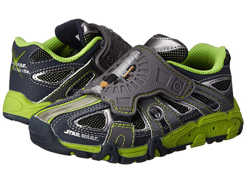 Stride Rite - Lightsaber Light Sound (Toddler/Little Kid) (Navy/Green) Boy's Shoes