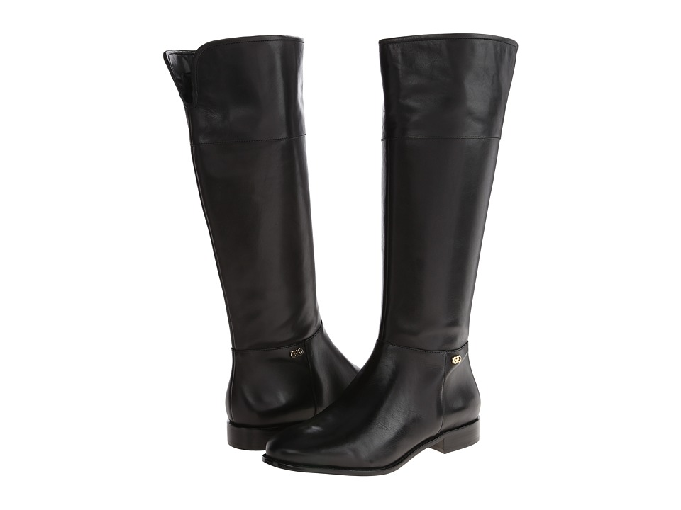 Cole Haan - Primrose Riding Boot (Black) Women's Zip Boots