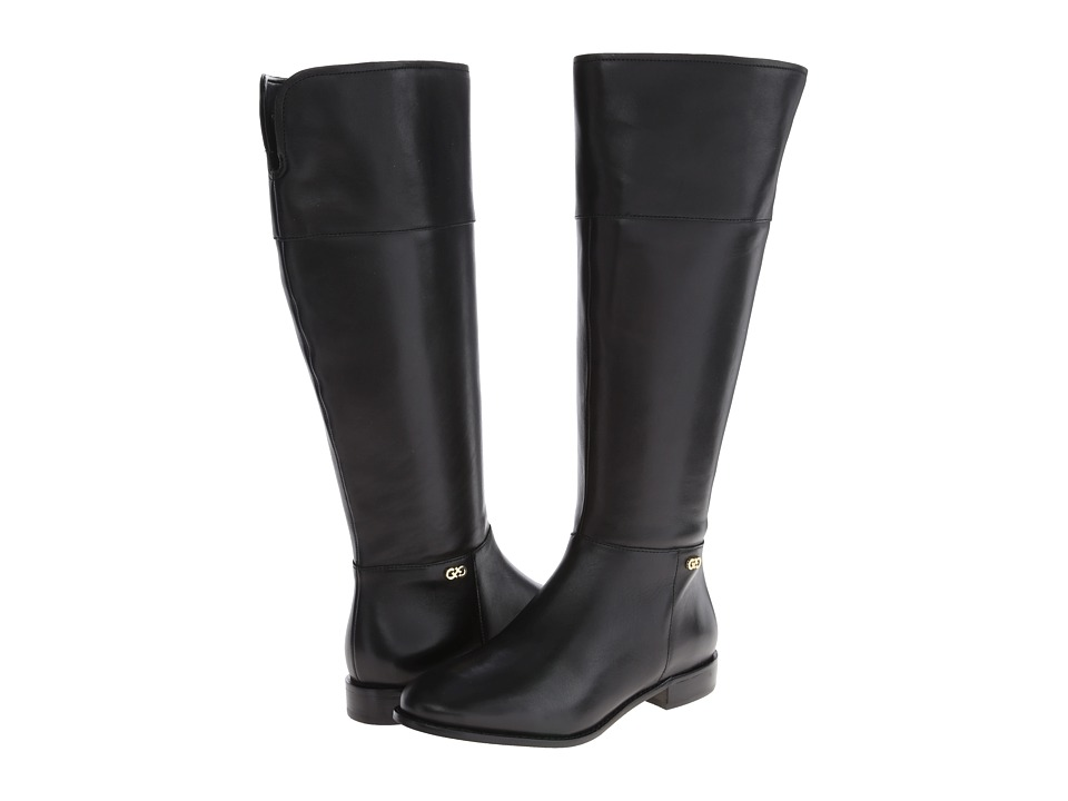 Cole Haan Primrose Riding Boot Extended Calf (Black) Women