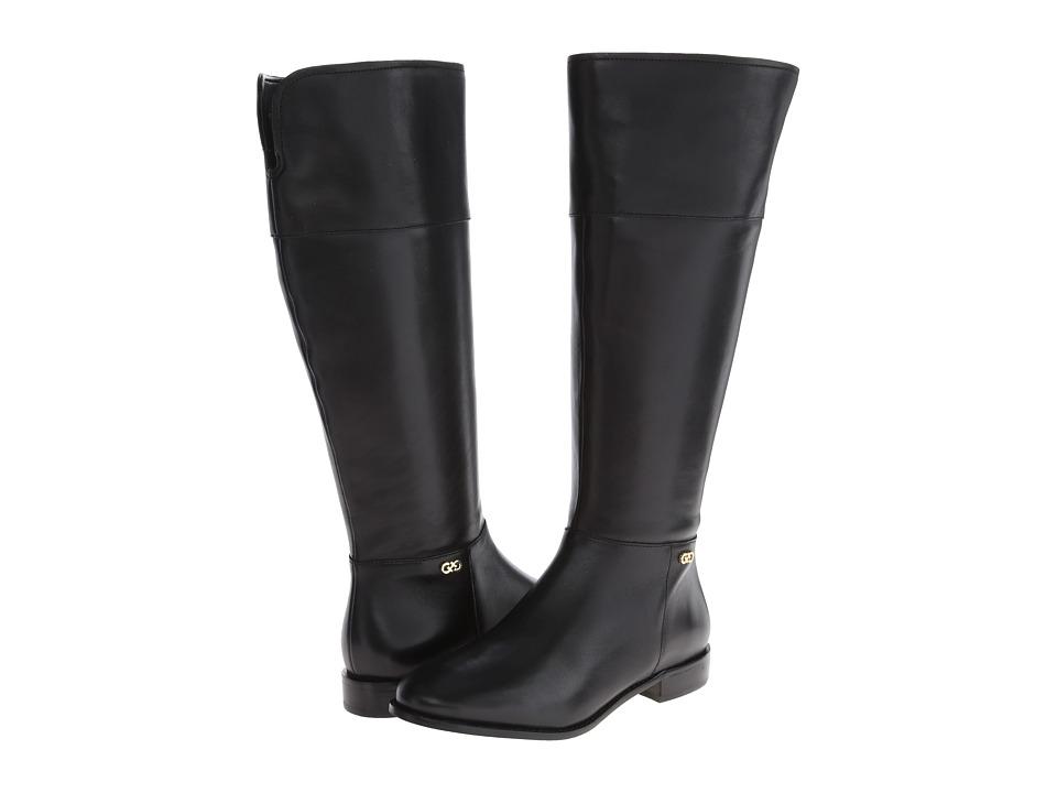 Cole Haan - Primrose Riding Boot Extended Calf (Black) Women's Zip Boots