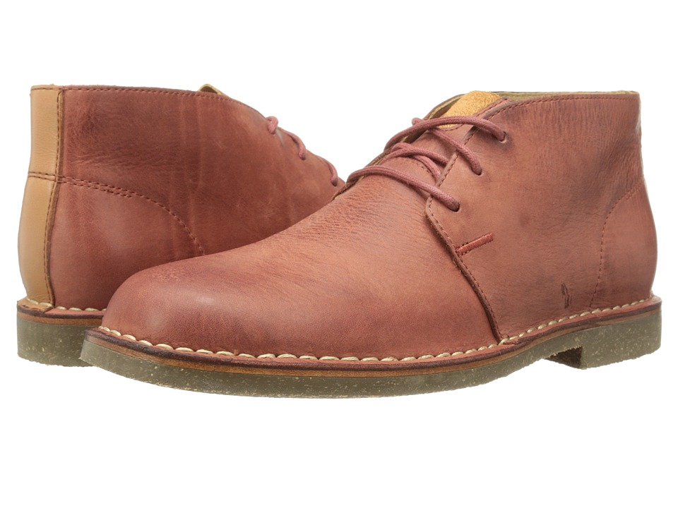Cole Haan - Glenn RBR Chukka (Burnt Henna/British Tan) Men