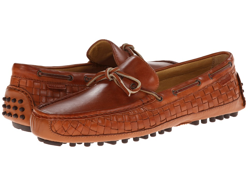 Cole Haan - Grant Camp Moc Woven (British Tan) Men's Shoes