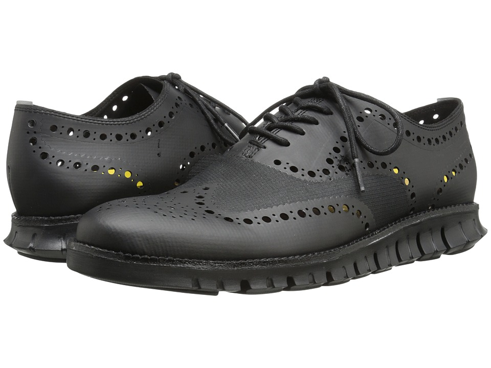 Cole Haan - Cole Haan Zerogrand OX No Stitch (Black) Men's Lace Up Wing Tip Shoes
