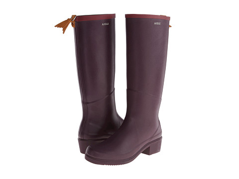 AIGLE - Miss Juliette A (Figue) Women's Boots