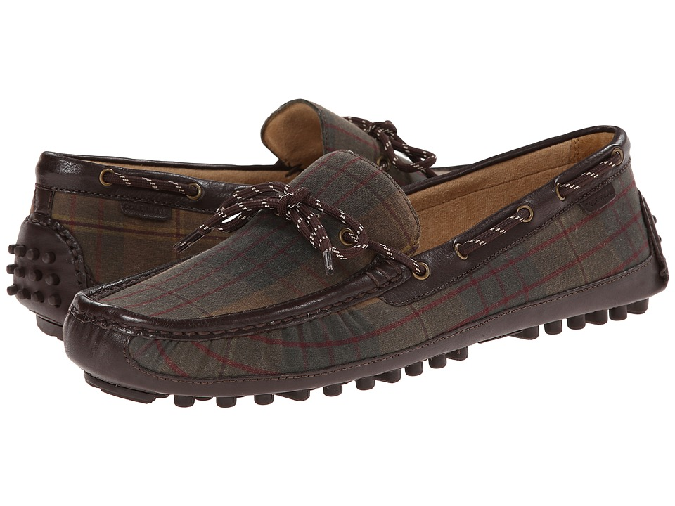 Cole Haan - Grant Canoe Camp Moc (Tartan/Chestnut) Men's Slip on Shoes