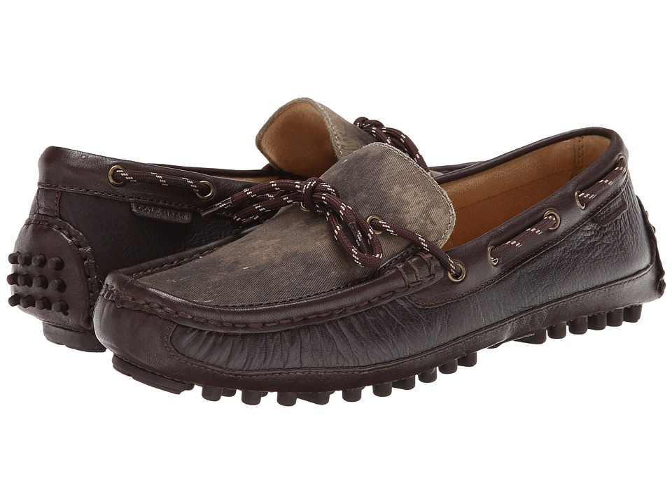 Cole Haan - Grant Canoe Camp Moc (Java/Camo) Men's Slip on Shoes