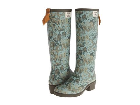 AIGLE - Miss Juliette Liberty Print (Khaki) Women's Boots