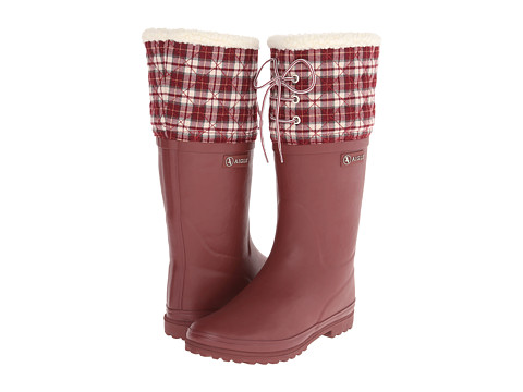 AIGLE - Polka Giboulee (Griotte) Women's Boots