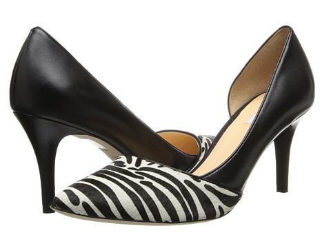 Cole Haan - Highline Pump (Zebra Haircalf/Black) High Heels