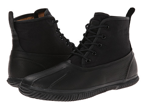 Cole Haan - Trenton Weather Boot (Black) Men's Lace-up Boots