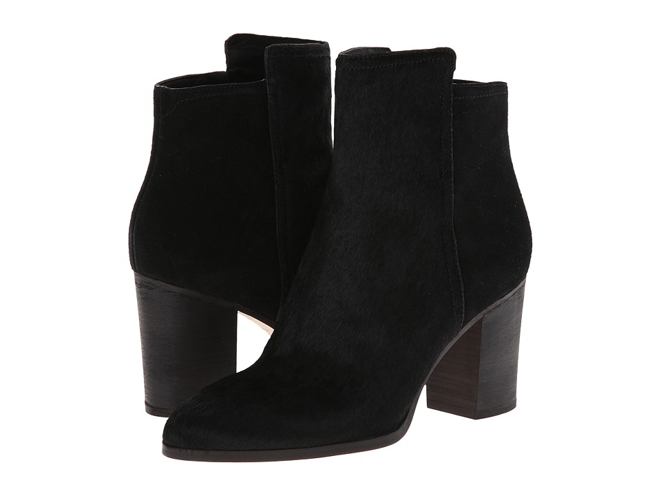 Cole Haan - Zandra Bootie (Black Haircalf/Suede) Women's Boots
