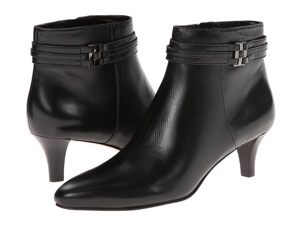 Cole Haan - Tamera Short Boot (Black) Women's Zip Boots