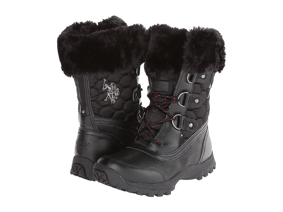 U.S. POLO ASSN. - Artic (Black) Women's Lace up casual Shoes