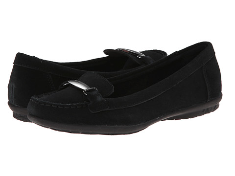 Hush Puppies - Ceil WK IIV (Black Suede) Women's Shoes