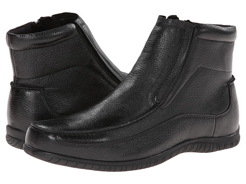 Hush Puppies - Simon Knox IIV (Black Leather) Men