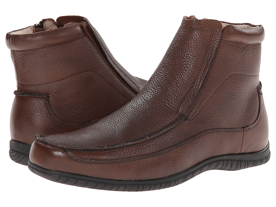 Hush Puppies - Simon Knox IIV (Brown Leather) Men's Shoes