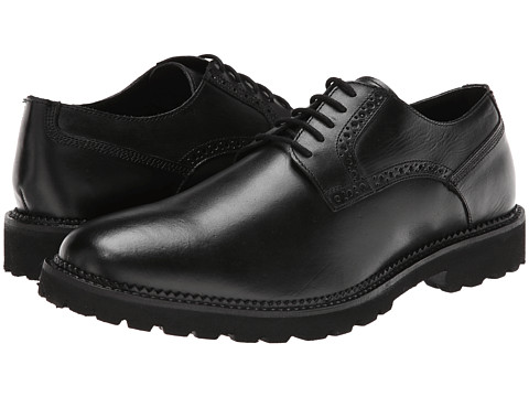 Hush Puppies - Nelson Sterling IIV (Black Leather) Men