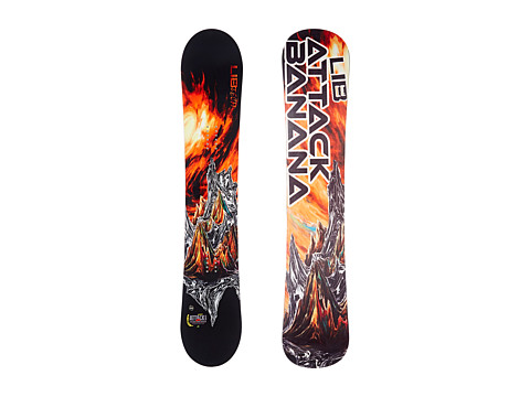 Lib Tech - Attack Banana'14 153 EC2 (Multi) Snowboards Sports Equipment
