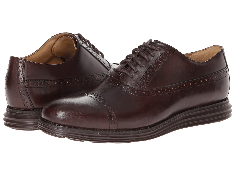 Cole Haan - Lunargrand Cap Toe (T Moro) Men's Lace Up Cap Toe Shoes