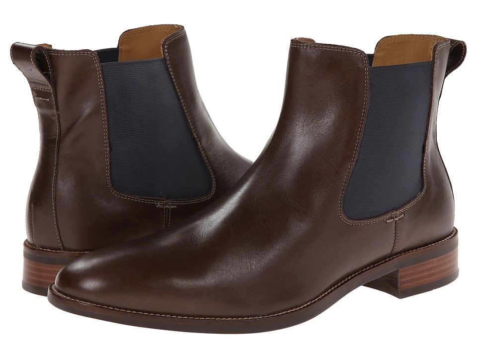 Cole Haan - Lenox Hill Chelsea (Chestnut Waterproof) Men's Shoes