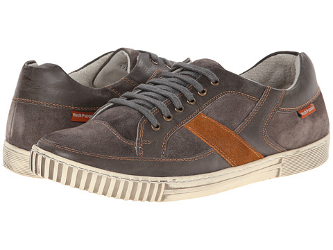 Hush Puppies - Jett Ulrich IIV (Grey Leather/Suede) Men's Shoes