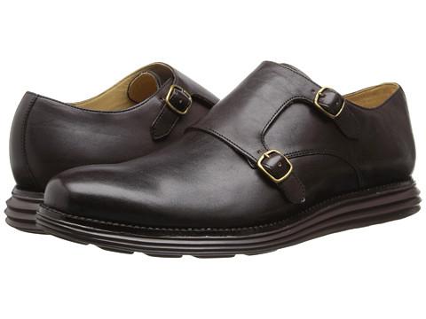 Cole Haan - Lunargrand Dbl Monk (T Moro) Men's Slip on Shoes