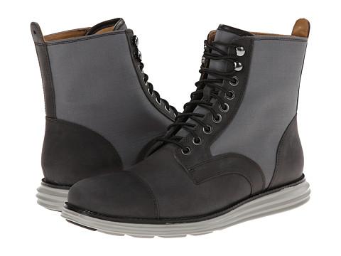 Cole Haan - Lunargrand Lace Boot (Ash Grey/Castor Grey) Men