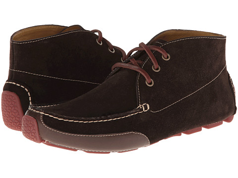 Cole Haan - Motogrand Chukka (Chocolate/Java) Men's Lace up casual Shoes