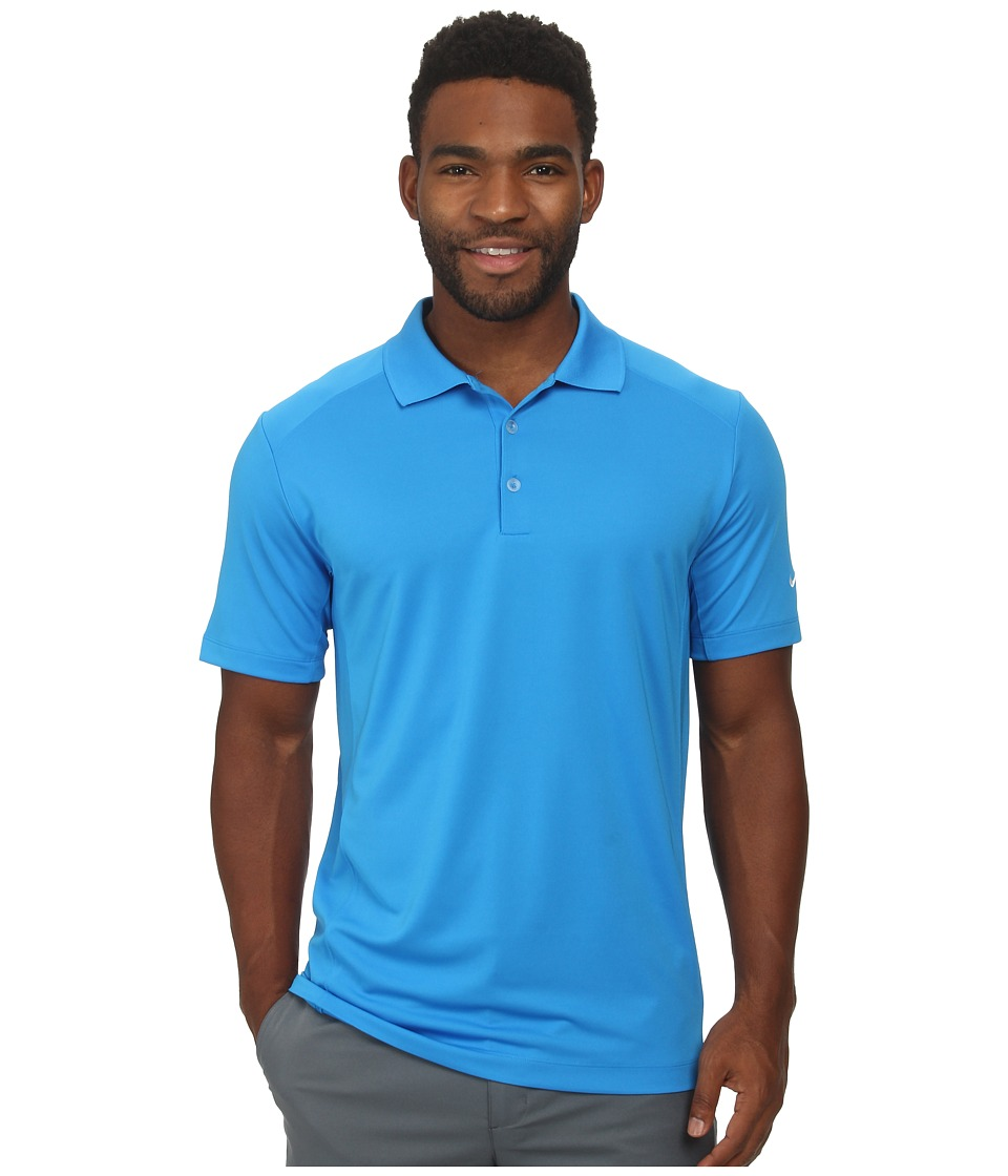 Nike Golf - Nike Victory Polo (Photo Blue/White) Men's Short Sleeve Pullover