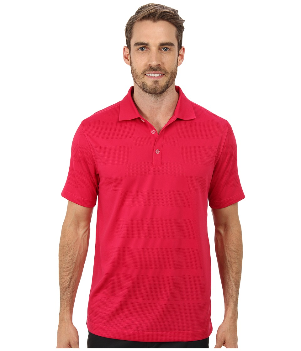 Nike Golf - Core Body Mapping Polo (Fuchsia Force/White) Men