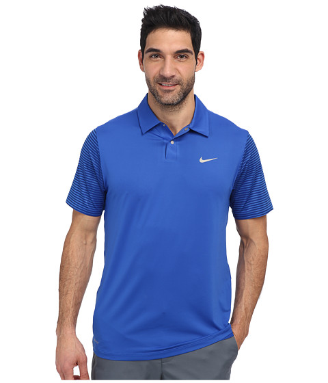 Nike Golf - Tiger Woods Performance Polo (Game Royal) Men's Short Sleeve Pullover