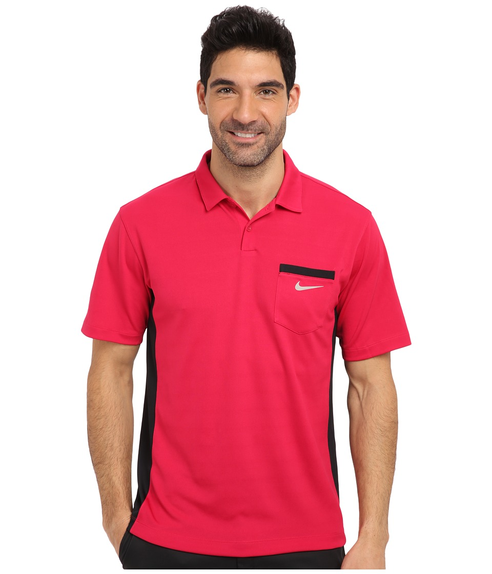 Nike Golf - Lightweight Innovation Cool Polo (Fuchsia Force) Men's Short Sleeve Knit